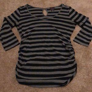 Maturity Black and Grey Shirt